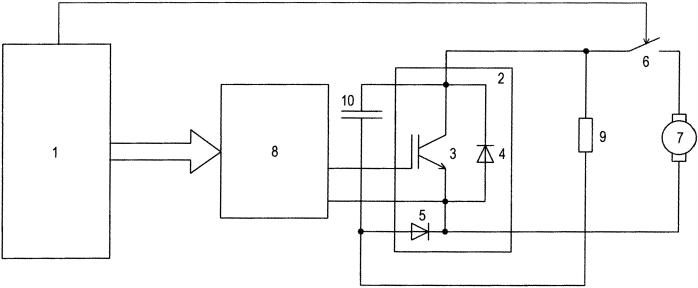 Регулятор электродинамического тормоза локомотива