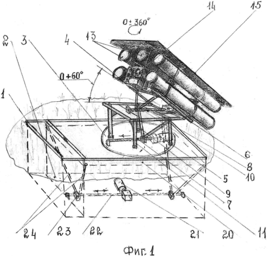 Автоматизированная фортификационная ракетная установка