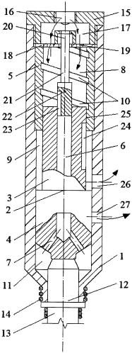 Пневматический ударный механизм