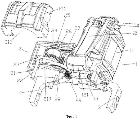 Полностью автоматическое приемное устройство для оптического волокна