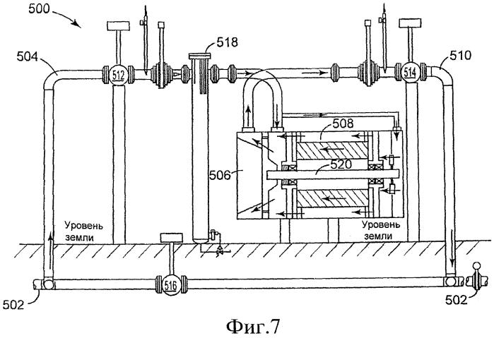 Двигательно-компрессорная установка (варианты), способ ремонта установки и способ сжатия газа