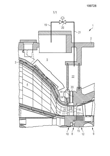 Способ охлаждения турбинной ступени и газовая турбина, включающая в себя охлаждаемую турбинную ступень