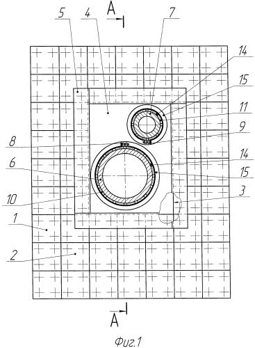 Узлы прохода панели звукоизолирующей и способ их изготовления