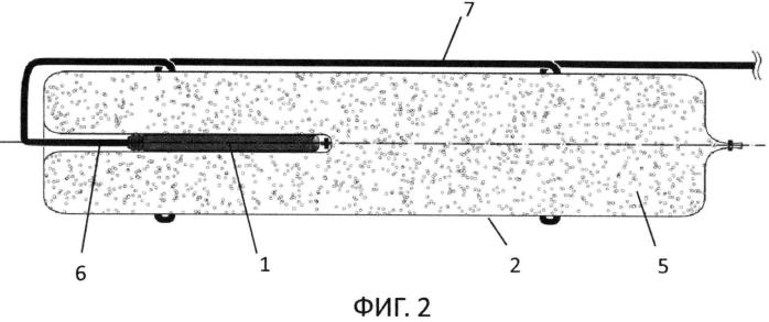 Патрон взрывчатого вещества с герметичным устройством ввода капсюля-детонатора, способ изготовления этого патрона и приспособление для изготовления этого патрона