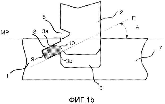 Механическая фиксирующая система для строительных панелей