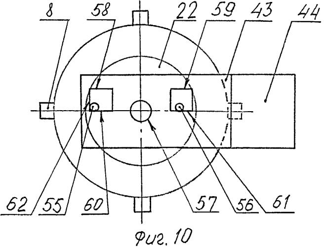 Многозондовый датчик контурного типа для сканирующего зондового микроскопа