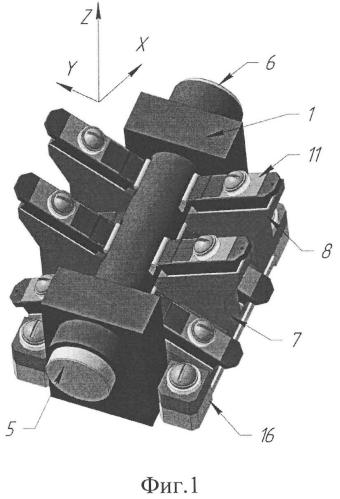 Излучатель твердотельного лазера без жидкостного охлаждения с термостабилизацией диодной накачки