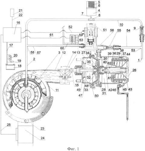 Система смазки турбокомпрессора двигателя внутреннего сгорания