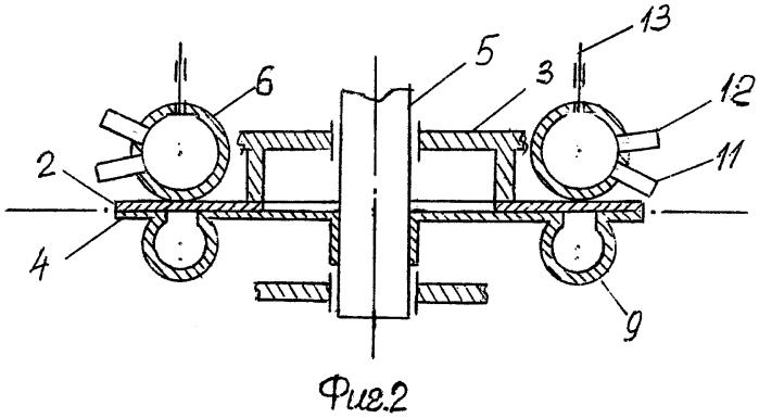 Роторно-желобовой двигатель внутреннего сгорания