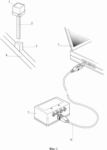 Навигационная система для эндопротезирования тазобедренного сустава