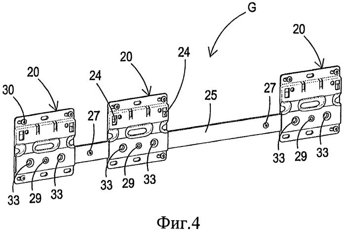 Позиционирующий и поддерживающий узел и способ его применения (варианты)