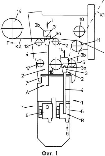 Устройство контроля ленточки основы и круглая ткацкая машина
