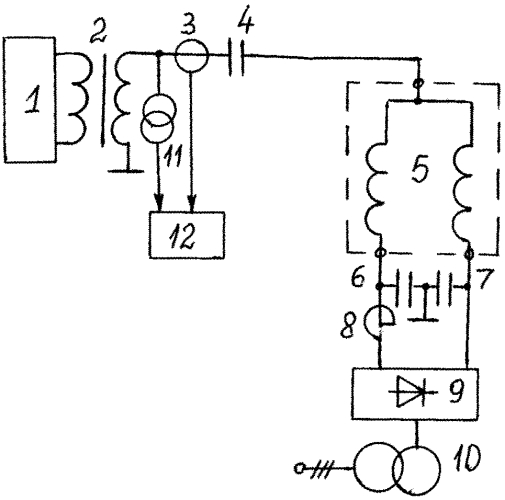 Устройство для испытания управляемого шунтирующего реактора