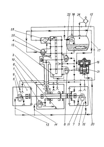 Маслосистема авиационного турбореактивного двигателя