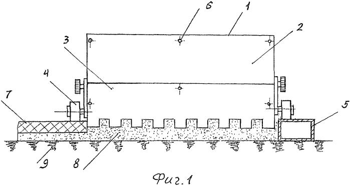 Комплект элементов для устройства плиточных полов