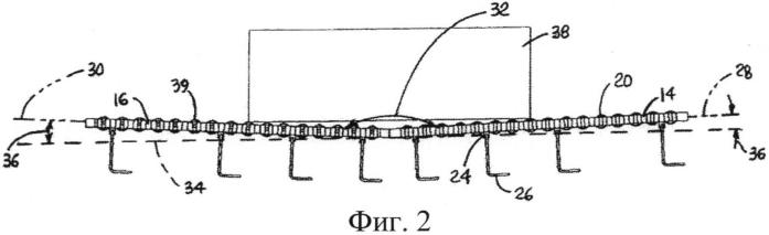 Устройство для поворота ящиков, содержащее две ленты и неприводные ролики