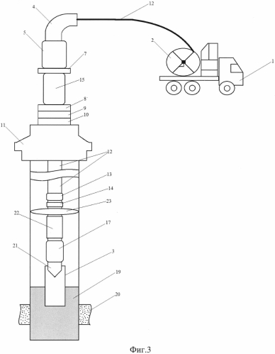 Способ извлечения прихваченной колонны гибких труб из скважины