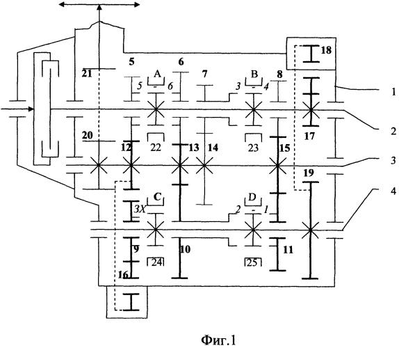Способ получения универсальной коробки передач и её модификаций