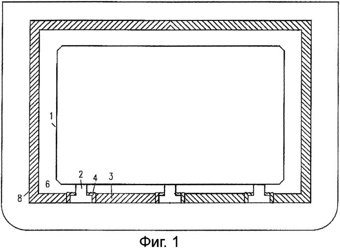 Конструкция для содержания сжиженного природного газа (спг)