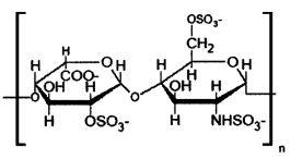 Способ получения композиций на основе высокомолекулярного гепарина с аминокислотами и 3-d металлами