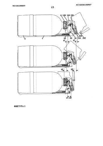 Дозирующее устройство, снабженное съемным дозирующим патроном