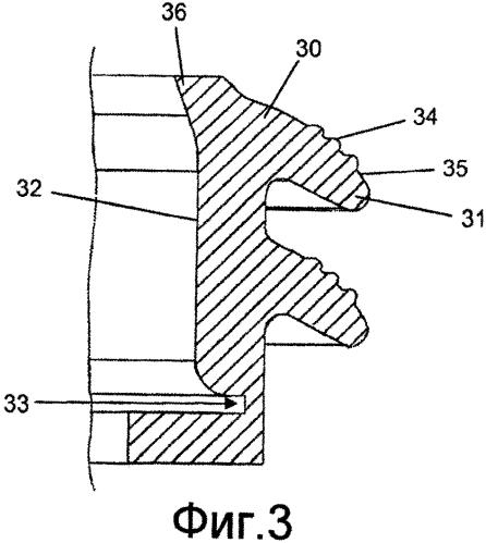 Уплотнение для использования в электронагреваемом сосуде