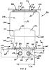 Концевой элемент газового амортизатора, узел газового амортизатора и система подвески с такими газовыми амортизаторами