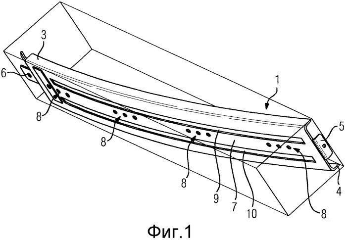 Элемент жесткости для облицовочной панели