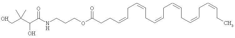 Пантенола докозагексаеноат и его применение для лечения и предупреждения сердечно-сосудистых заболеваний
