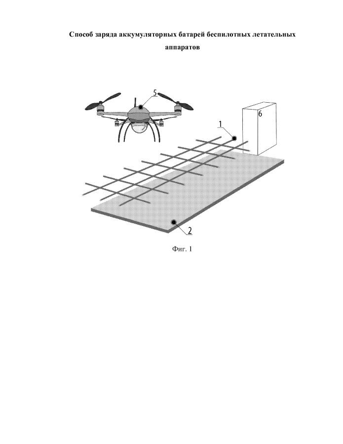 Способ заряда аккумуляторных батарей беспилотных летательных аппаратов