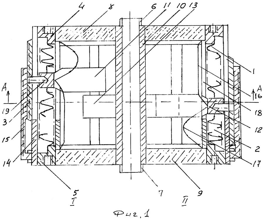 Вакуумный коаксиальный конденсатор переменной емкости
