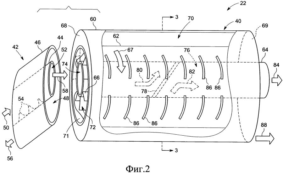 Жидкостно-кольцевой компрессор (варианты) и подводная компрессорная установка