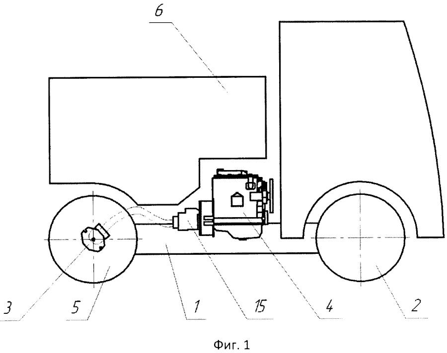 Самоходная машина для обработки алюминиевых электролизеров