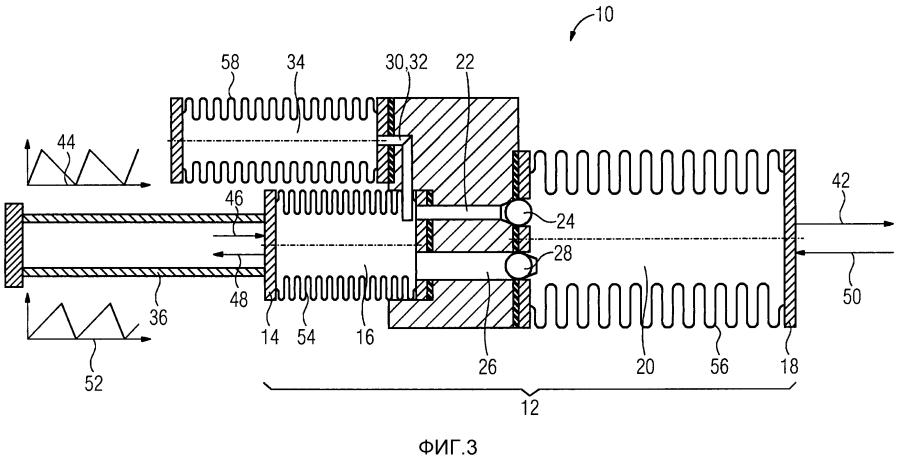 Устройство исполнительного элемента и способ установки положения линейно подвижного элемента