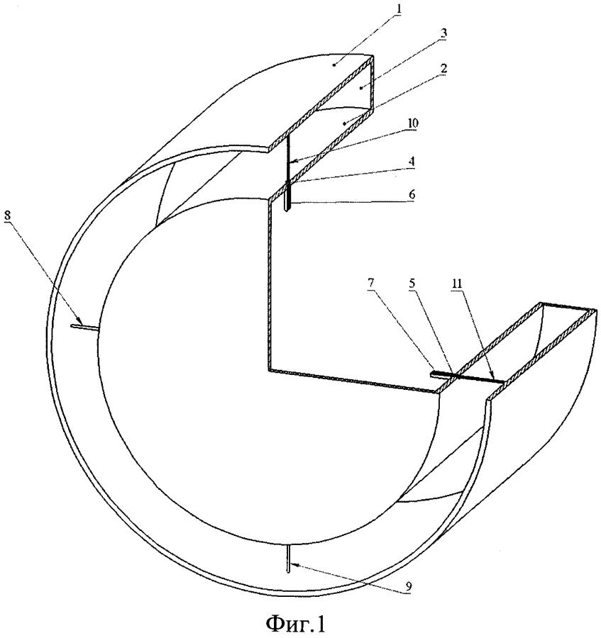 Кольцевая щелевая антенна