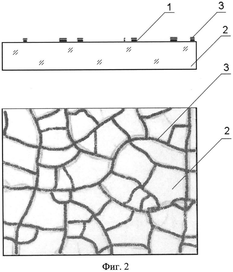 Способ получения проводящих сетчатых микро- и наноструктур и структура для его реализации