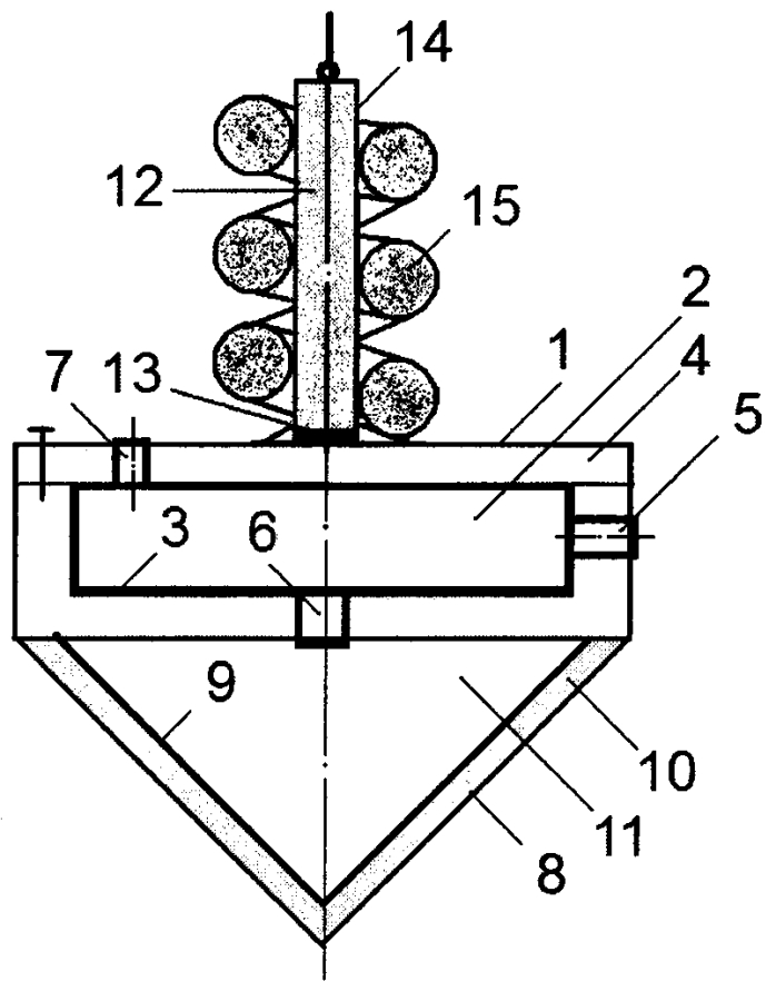 Штучный звукопоглотитель кочетова комбинированного типа