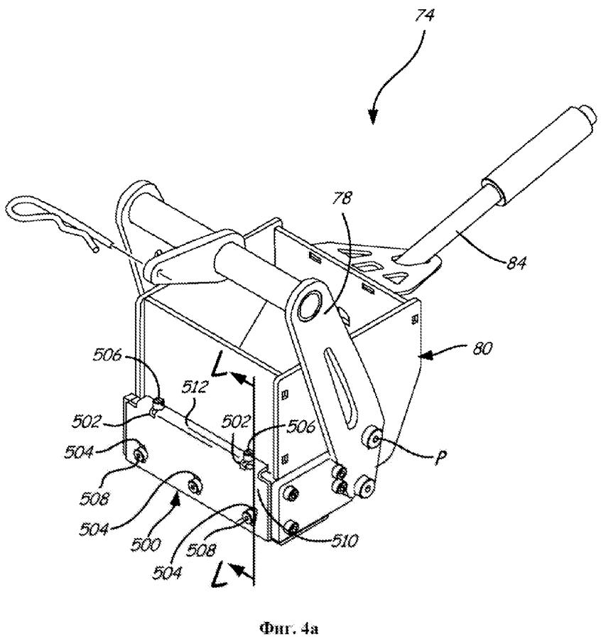 Блок разравнивания с механизмом быстродействующей регулировки высоты