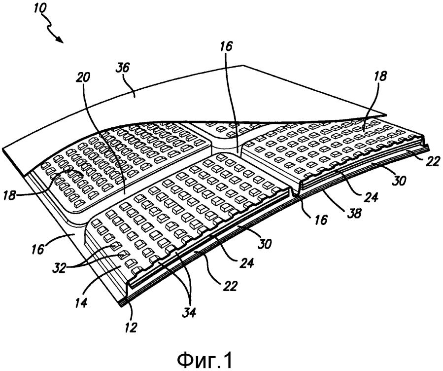 Интерьерная панель летательного аппарата с акустическими материалами