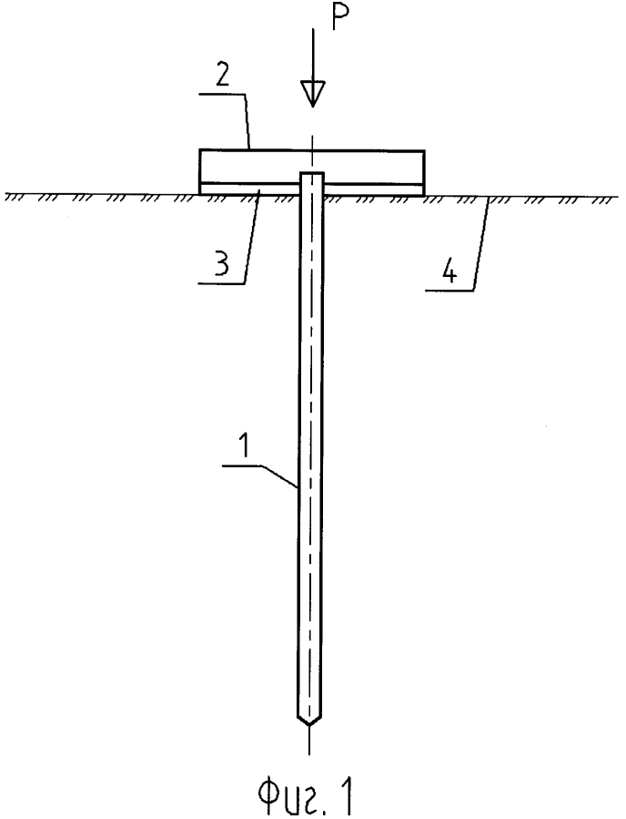 Способ статических испытаний элемента свайно-плитных и плитно-свайных фундаментов и элемент для его осуществления