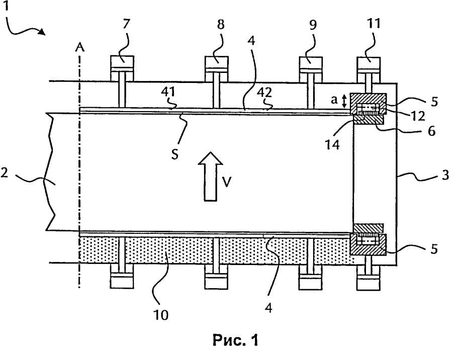 Регенеративный теплообменник с принудительным ведением уплотнения ротора