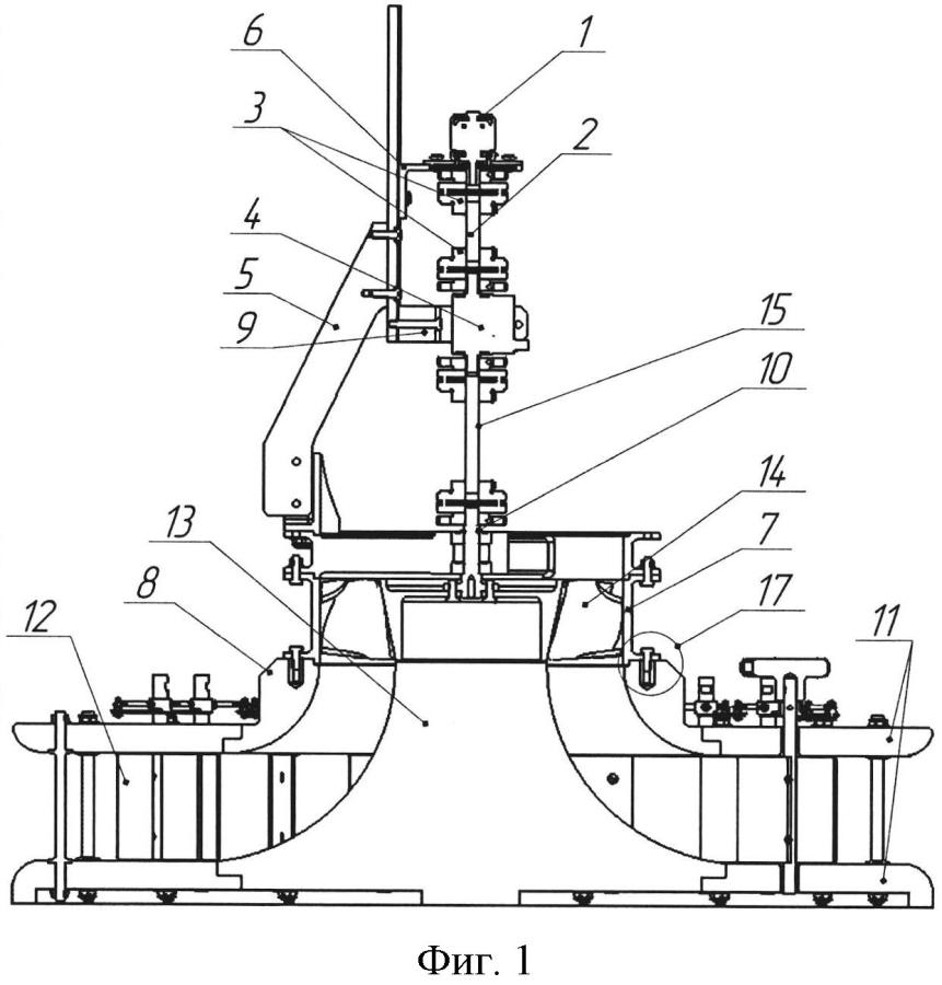Универсальный стенд для определения характеристик электроприводов и движителей действующих моделей бпла