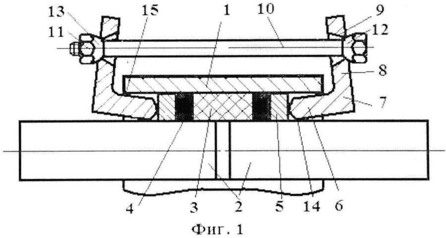 Устройство для соединения гладких труб
