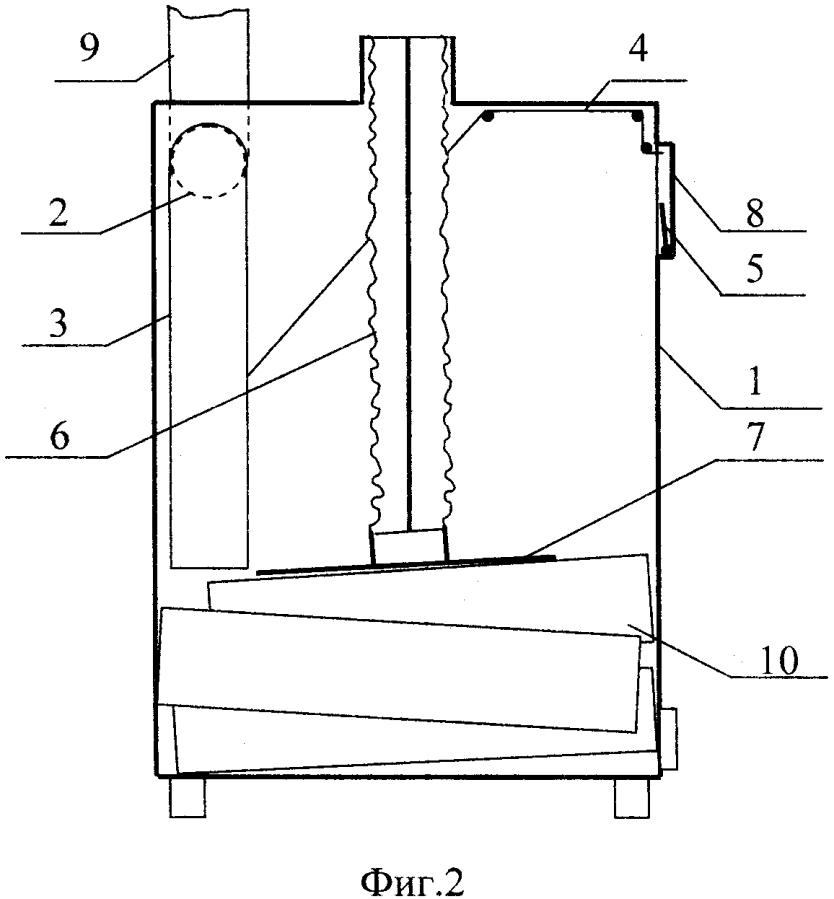 Устройство повышения эффективности твёрдотопливного отопительного прибора