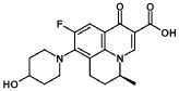 Чистый тетрагидрат l-аргининовой соли s-(-)-9-фтор-6, 7-дигидро-8-(4-гидроксипиперидин-1-ил)-5-метил-1-оксо-1н, -5н-бензо[i,j]хинолизин-2-карбоновой кислоты и способ его получения