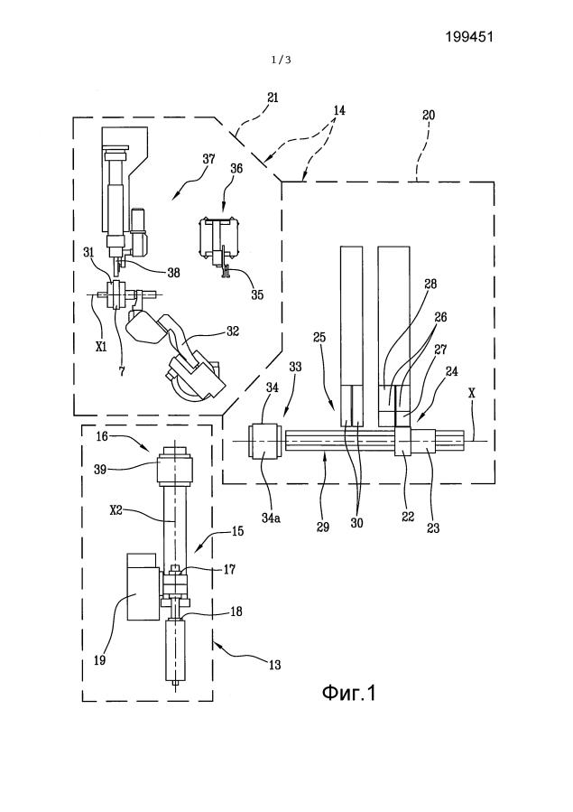 Способ и установка для сборки шин для колес транспортных средств