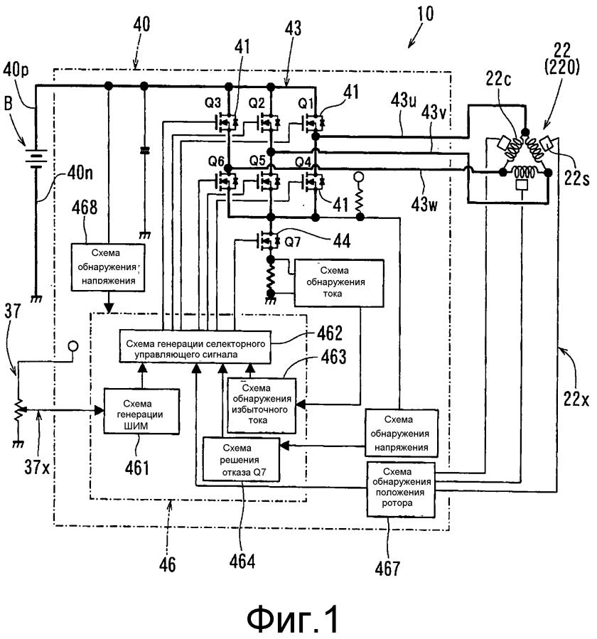 Электрический приводной инструмент