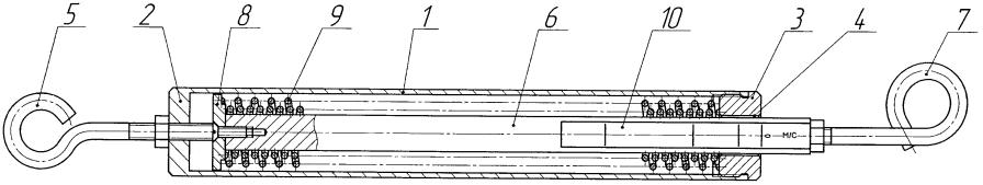 Устройство для натяжения лучей антенны