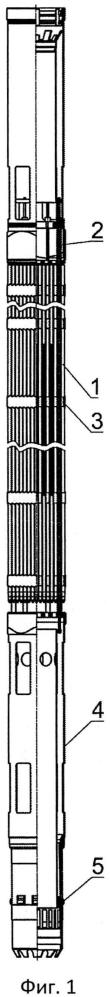 Бесчехловая тепловыделяющая сборка ядерного реактора с жидкометаллическим теплоносителем