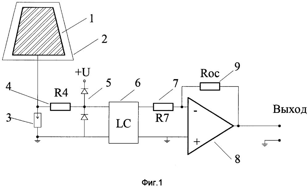 Широкополосная активная приемная антенна с фильтрацией входного сигнала